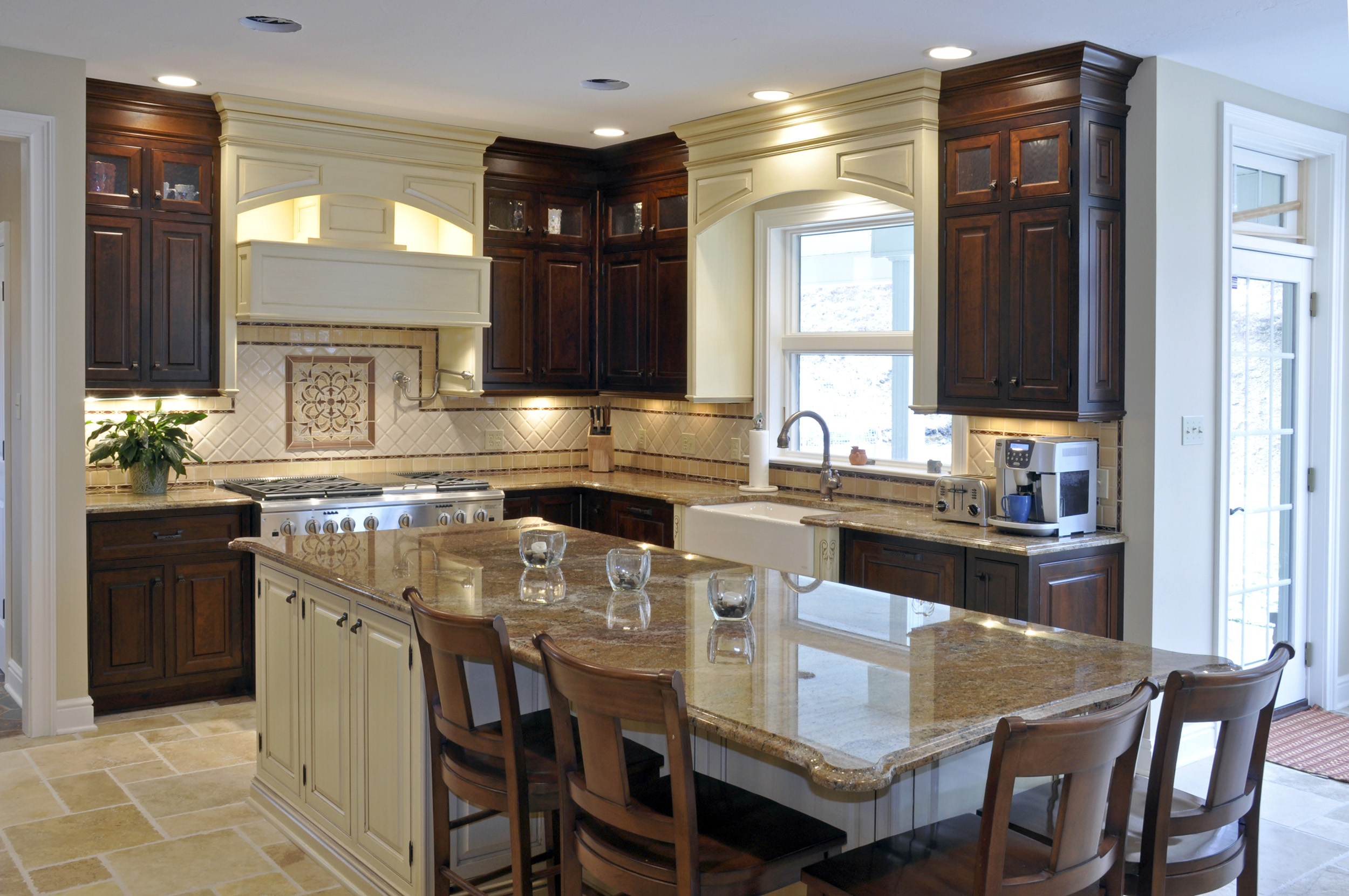 100 pittsburgh custom homes kitchen and a wall of windows illuminates this great room - Kitchen design pittsburgh ...